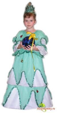 Детские новогодние костюмы - костюм ёлки - photo#26