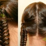 Плетем две косы