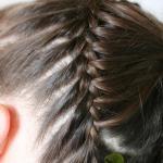 Продолжаем  плетение по всей окружности головы
